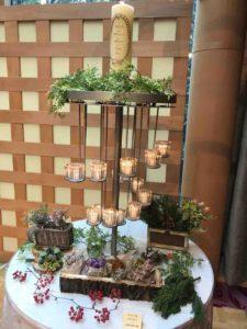 熱田神宮の大結婚展で展示されていたキャンドル。