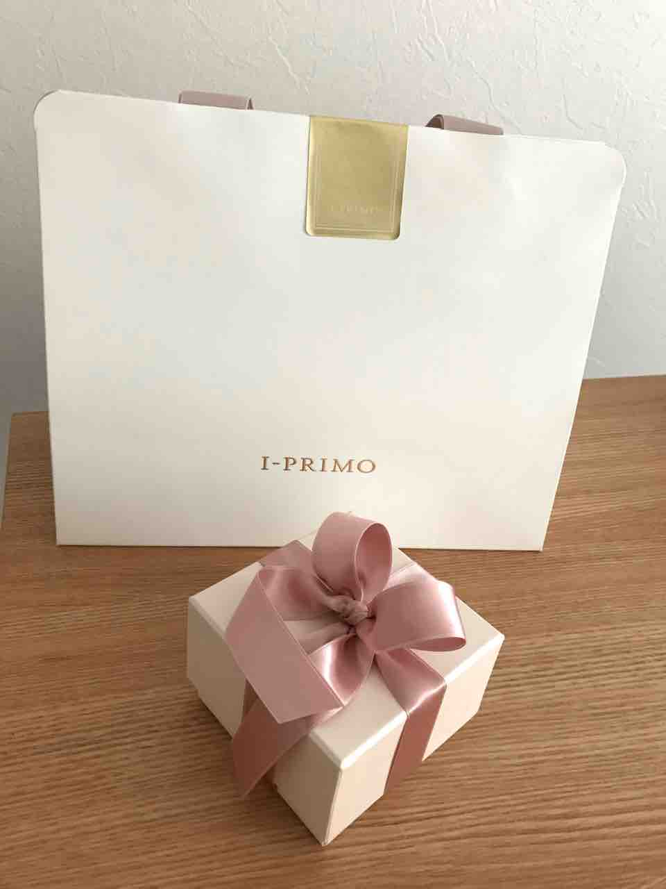 I-PRIMO(アイプリモ)の結婚指輪ケースと袋