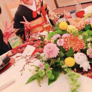 竜宮世奈のプロフィール画像。熱田神宮の披露宴にて。