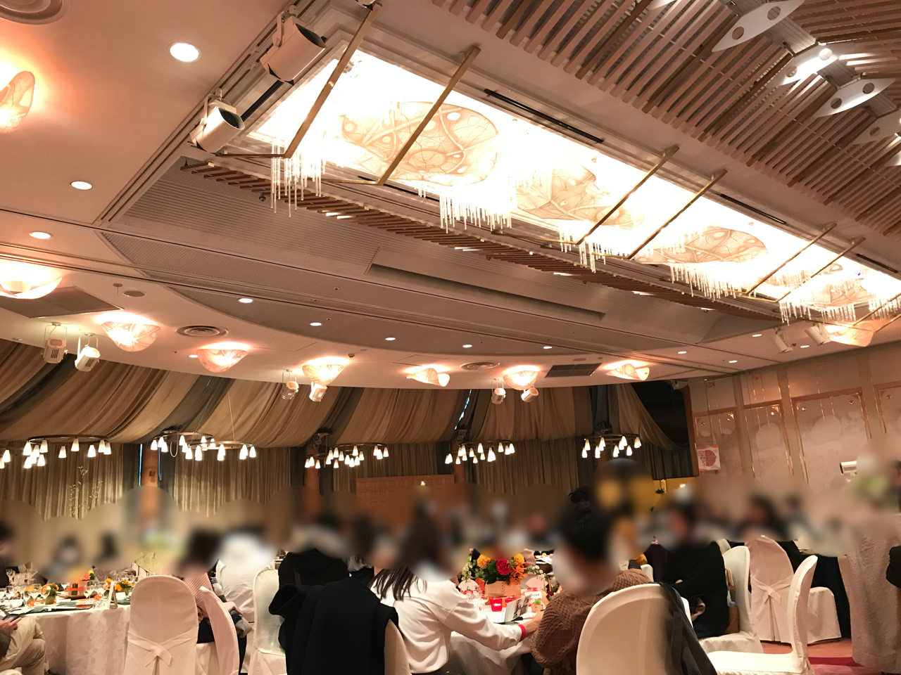 熱田神宮の大結婚展での模擬披露宴の様子。
