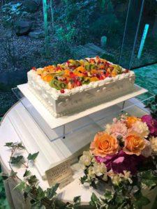 熱田神宮の大結婚展で展示されてたウェディングケーキ、ナゴヤキャッスルのブリリアントスイーツ