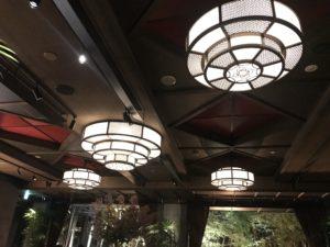 和モダンなデザインが美しいKAWABUNの天井
