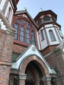 聖ヨハネ教会堂の外観。