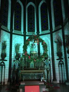 聖ザビエル天主堂の祭壇。